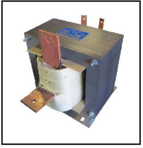 HIGH CURRENT TRANSFORMER, 4 KVA, Output: 7.5 VAC, 540 AMPS, P/N 19184