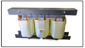 Isolation Transformer: 120 KVA, 3 PH, 60 Hz, Primary: 480 VAC, Secondary: 424/433 VAC, P/N 19186