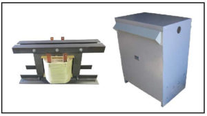 Isolation Transformer, 42 KVA, 1 PH, 60 Hz, Primary: 600 VAC, Secondary: 600 VAC, P/N 19187N