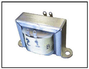 Isolation Transformer, 20 VA, 1 PH, 400 Hz, Primary: 115 VAC, Secondary: 180 VAC, P/N 19189