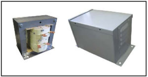 Control Power Transformer, 2 KVA, 1 PH, 60 Hz, Primary: 690 VAC, Secondary: 175/228 VAC, P/N 19190N