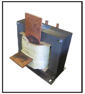 HIGH CURRENT TRANSFORMER, 6 KVA, Output: 5.4 VAC, 1104 AMPS, P/N 19192