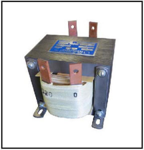 STEP DOWN TRANSFORMER, 0.6 KVA, PRIMARY 240 VAC, SECONDARY 120 VAC, P/N 19195-1