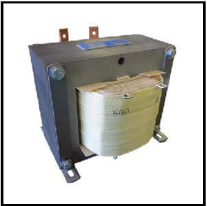 Isolation Transformer, 2.5 KVA, 1 PH, 50 Hz, Primary: 120 VAC, Secondary: 500 VAC, P/N 19200