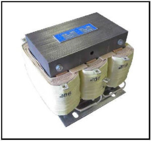 Isolation Transformer, 500 VA, 3 PH, 60 Hz, Primary: 480 VAC L-L, Secondary: 208 VAC L-L, P/N 19202