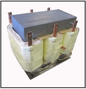 Isolation Transformer, 20 KVA, 3 PH, 60 Hz, Primary: 480 VAC L-L, Secondary: 415 VAC L-L, P/N 19210