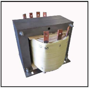 TRANSFORMER FOR RECTIFIER APPLICATION, 6 KVA, 1 PH, 60 HZ, P/N 19215