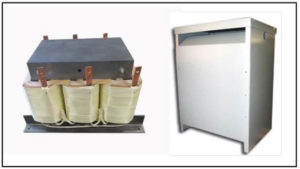 Three Phase Isolation Transformer, 22.5 KVA, P/N 19228N