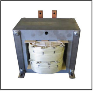 SINGLE PHASE MULTI TAP TRANSFORMER, 1 KVA, P/N 19078A