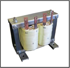 Isolation Transformer, 5.76 KVA, 1 PH, 400 Hz to 3 kHz, P/N 19230