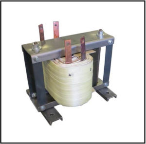 ISOLATION TRANSFORMER, 5.76 KVA, 400 Hz to 3 kHz, P/N 19230