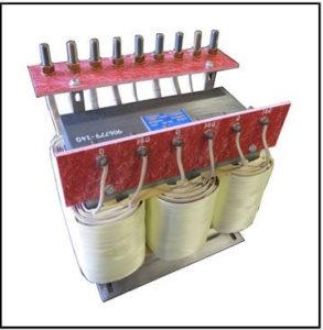 HEATING ELEMENT TRANSFORMER, 14.1 KVA, 3 PH, 50 Hz, P/N 19151-1