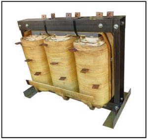 THREE PHASE HIGH CURRENT TRANSFORMER, 300 KVA, OUTPUT 188 VAC, 532 AMPS, P/N 19239