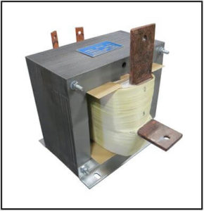 High Current Transformer, 2.5 KVA, 1 PH, 60 Hz, 500 Amps, P/N 19248