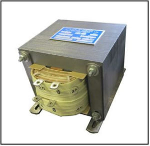 DUAL SECONDARY TRANSFORMER, 0.3 KVA, 1 PH, 50/60 HZ, P/N 19250