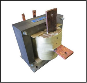 High Current Transformer, 3 KVA, 1 PH, 60 Hz, 600 Amps, P/N 19251