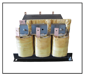 STEP DOWN TRANSFORMER, 36 KVA, PRIMARY 208 VAC, SECONDARY 104 VAC, P/N 18796N