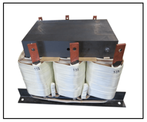 STEP DOWN TRANSFORMER, 30 KVA, PRIMARY 480 VAC, SECONDARY 101 VAC, P/N 19116N