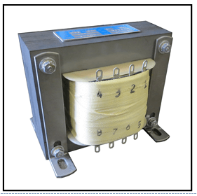 FOUR SECONDARY TRANSFORMER, 0.1 KVA, 1 PH, 60 HZ, P/N 19266