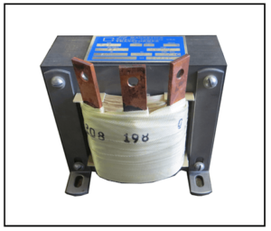 SINGLE PHASE BOOST TRANSFORMER, 4.2 KVA, INPUT 198 VAC, OUTPUT 208 VAC, P/N 19277