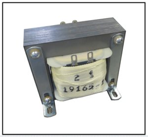 DUAL SECONDARY TRANSFORMER, 100 VA, 400 HZ, P/N 19165-1