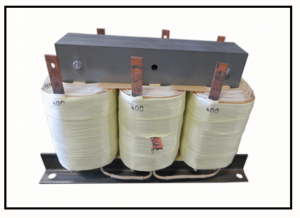 400 HZ THREE PHASE ISOLATION TRANSFORMER, 10.35 KVA, P/N 19156N