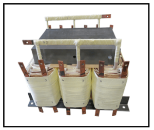 THREE PHASE MULTI TAP TRANSFORMER, 26 KVA, P/N 19127N