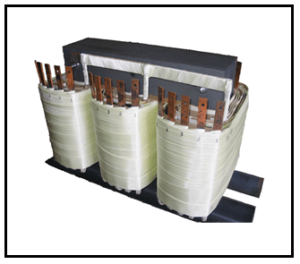 THREE PHASE MULTI TAP TRANSFORMER, 36 KVA, P/N 18607N