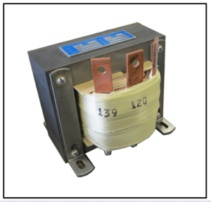 SINGLE PHASE BUCK TRANSFORMER, 2.4 KVA, INPUT 139 VAC, OUTPUT 120 VAC, P/N 19279