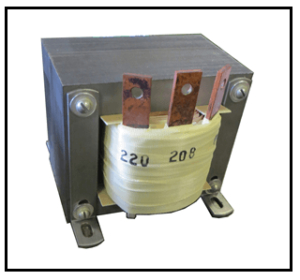 SINGLE PHASE BOOST TRANSFORMER, 3.3 KVA, INPUT 208 VAC, OUTPUT 220 VAC, P/N 19249N