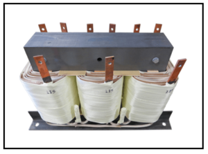 400 HZ THREE PHASE ISOLATION TRANSFORMER, 12 KVA, P/N 19053N