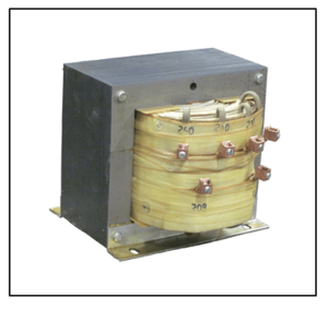 SINGLE PHASE MULTI TAP TRANSFORMER, 7.5 KVA, P/N 18824N