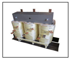THREE PHASE BOOST TRANSFORMER, 20 KVA, INPUT 198/204/210 VAC, OUTPUT 230 VAC, P/N 19284N