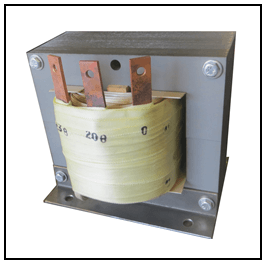 SINGLE PHASE BUCK TRANSFORMER, 15 KVA, INPUT 208 VAC, OUTPUT 230 VAC, P/N 19289N