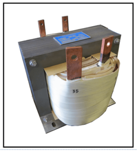 SINGLE PHASE HIGH CURRENT TRANSFORMER, 0.75 KVA, OUTPUT 35 KVA, 215 AMPS, P/N 19286