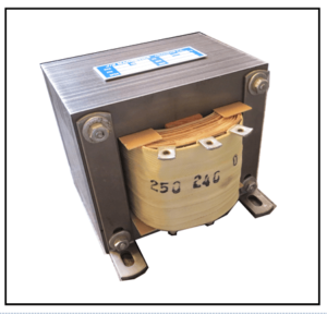 SINGLE PHASE MULTI TAP TRANSFORMER, 0.5 KVA, P/N 19288