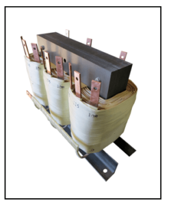 400 HZ THREE PHASE ISOLATION TRANSFORMER, 10 KVA, P/N 18423N