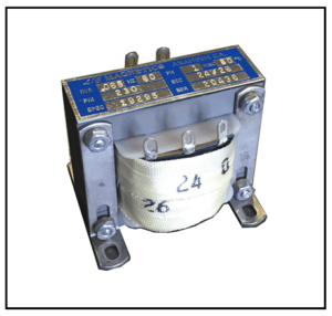 SINGLE PHASE MULTI TAP TRANSFORMER, 65 VA, P/N 19295