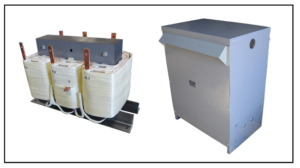 THREE PHASE ISOLATION TRANSFORMER, 12 KVA, WITH NEMA 3R ENCLOSURE, P/N 19310N3