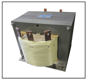 CENTER TAP TRANSFORMER, 25 KVA, PRIMARY 480 VAC, SECONDARY 180/360 VAC, P/N 19331A