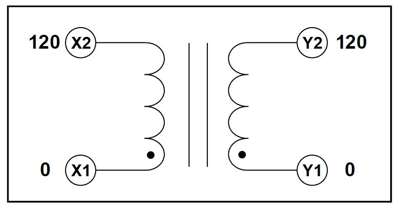 single phase isolation transformer  3 6 kva  p  n 19309