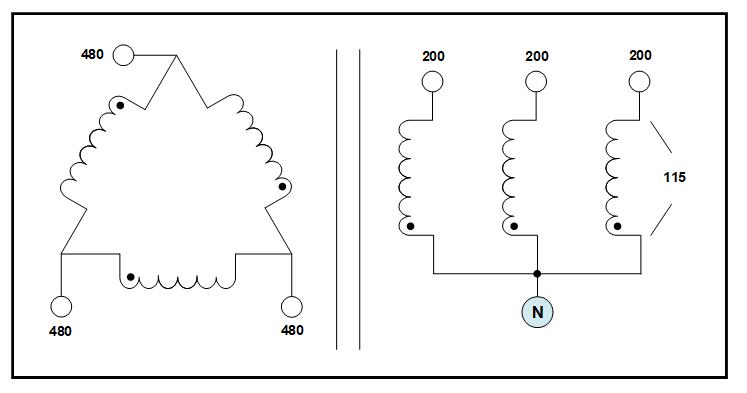harmonic mitigation isolation transformer  75 kva  primary