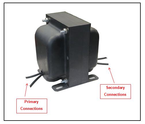 Transformer With End Bells  300 Va  1 Ph  60 Hz  P  N 7988l