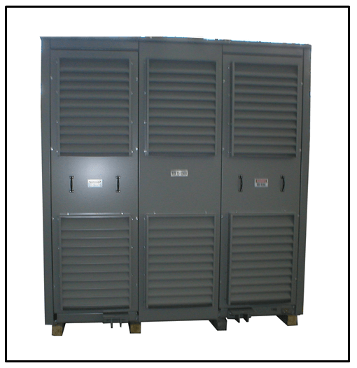 MEDIUM VOLTAGE DRY TYPE TRANSFORMER, ONE MVA, P/N 8375L - L